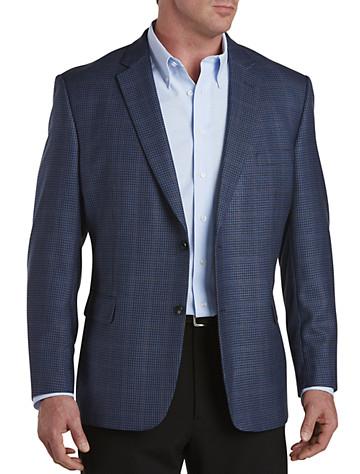 Jean Paul Germain Windowpane Check Sport Coat--Executive Cut