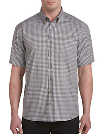 Harbor Bay Easy-Care Check Sport Shirt