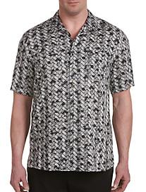 Island Passport® Batik Print Camp Shirt