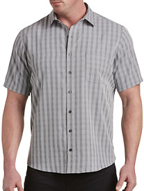 Harbor Bay Stripe Mircrofiber Sport Shirt
