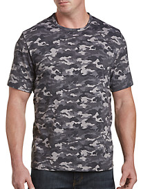 Harbor Bay® Grey Camo No-Pocket Tee