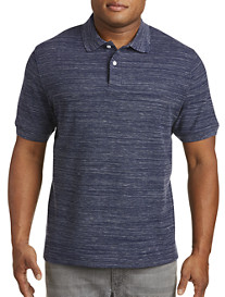 Harbor Bay Space-Dye Piqué Polo Shirt