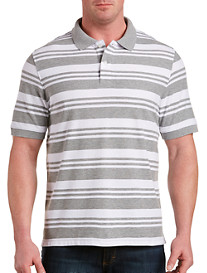 Harbor Bay Large Stripe Polo Shirt