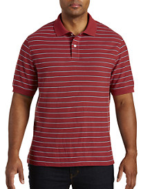 Harbor Bay Small Bi-Color Stripe Polo