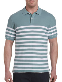 Harbor Bay Placed Stripe Polo