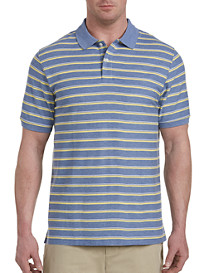 Harbor Bay Medium Bi-Color Stripe Polo