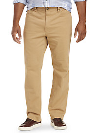 True Nation® Garment-Dyed Twill Pants