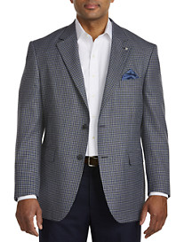 Oak Hill® Jacket-Relaxer™ Mini Check Sport Coat