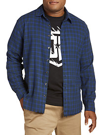 Destructed Flannel Shirt