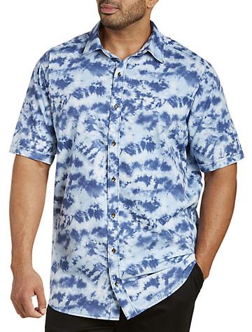 Batik Print Sport Shirt - $55.00