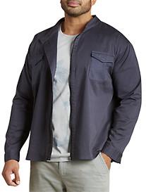Mixed Media Lightweight Jacket
