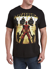 Marvel® Comics Deadpool Guns & Stuff Graphic Tee