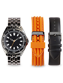 True Nation® Analog Watch with Interchangeable Bracelets