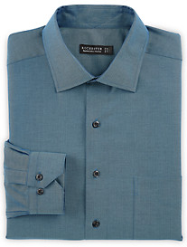 Rochester Non-Iron Herringbone Solid Dress Shirt