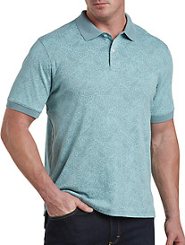 Harbor Bay Tropical Interlock Polo
