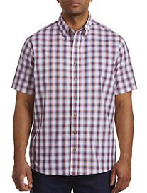 Harbor Bay Easy-Care Medium Plaid Sport Shirt
