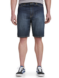 True Nation Relaxed-Fit Denim Shorts