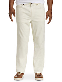 True Nation® Ecru Athletic-Fit Jeans