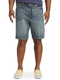 True Nation Athletic-Fit Denim Shorts