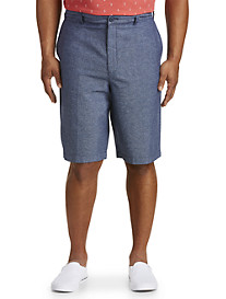 True Nation Linen-Blend Shorts