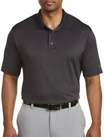 Reebok Golf Textured Jacquard Speedwick Polo