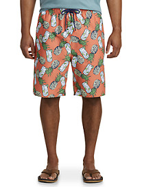 Island Passport Swim Trunks