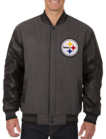NFL Reversible Leather/Wool Jacket