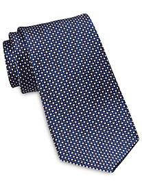 Rochester Designed in Italy Small Donut Neat Silk Tie