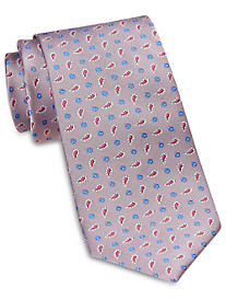 Rochester Designed in Italy Small Neat Paisley Silk Tie