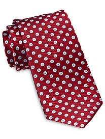 Rochester Designed in Italy Small Geo Dot Silk Tie