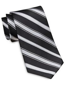 Rochester Designed in Italy Tonal Textured Stripe Silk Tie