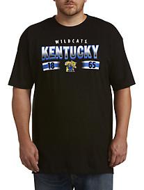Collegiate University of Kentucky Black Pop Tee