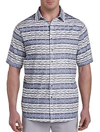 Aztec Stripe Sport Shirt