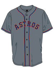 Majestic® MLB Astros Solid Jersey