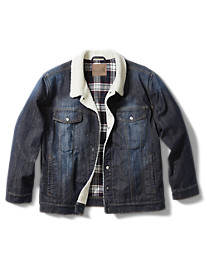 True Nation® It's Sherpa Time Denim Jacket