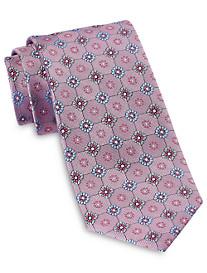 Rochester Designed in Italy Textured Pop Floral Silk Tie