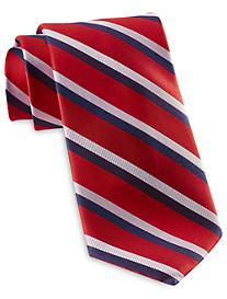 Rochester Designed in Italy Summer Textured Stripe Silk Tie