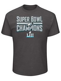 NFL 2018 Philadelphia Eagles Championship Tee