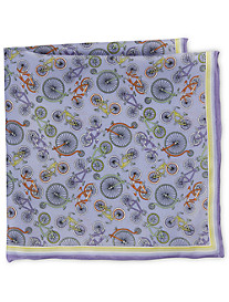 Rochester Ride It Like You Stole It Silk Pocket Square