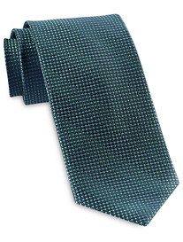 Rochester Designed in Italy Zig Zag Dot Silk Tie