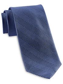 Rochester Designed in Italy Zig Zag Dot Silk Tie