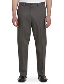Oak Hill Flat-Front Premium Stretch Twills-Unhemmed