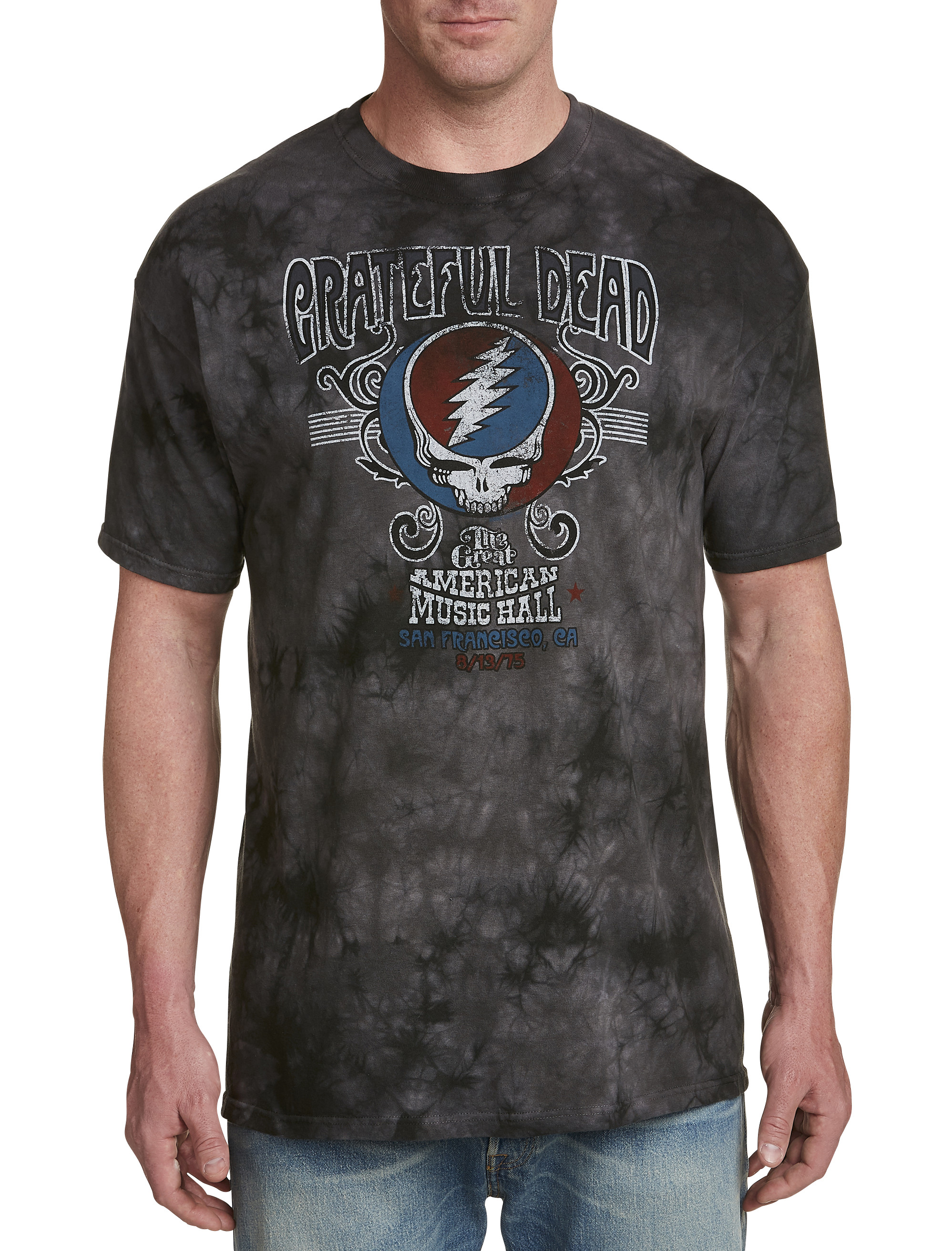 Grateful Dead Music Tie-Dye Graphic Tee | Tuggl