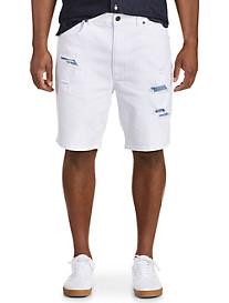 Society of One Athletic-Fit Denim Shorts