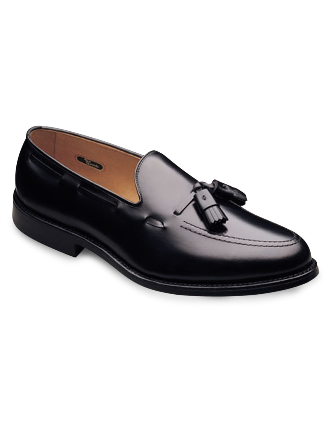 Set your own pace with this elegant slip-on shoe. Tassels and side lacing add classic details. Full leather lining and sole gives added comfort and support. Made in USA. Ships directly from manufacturer. See below for delivery times.