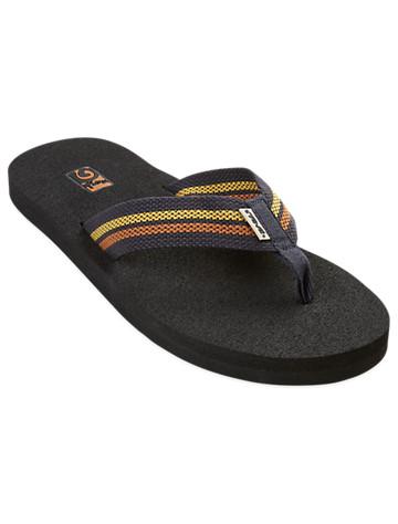 Navy Flip Flops