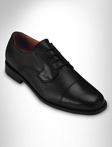 Bostonian Marco Deerskin Cap-Toe Oxfords