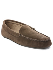 L.B. Evans® Darren Terry-Lined Moc Slippers