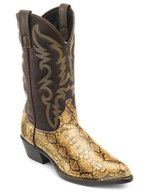 Dingo 12in SnakePrint Boot