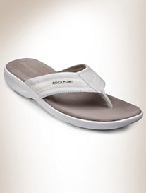 Rockport® Sailboat Circle Thong Sandals